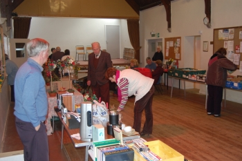 Something for everyone at the Gulworthy Parish Hall Coffee Morning
